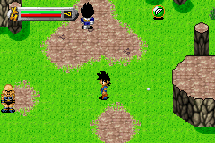 Dragon Ball Z - The Legacy of Goku - time to fight nappa and vegeta - User Screenshot